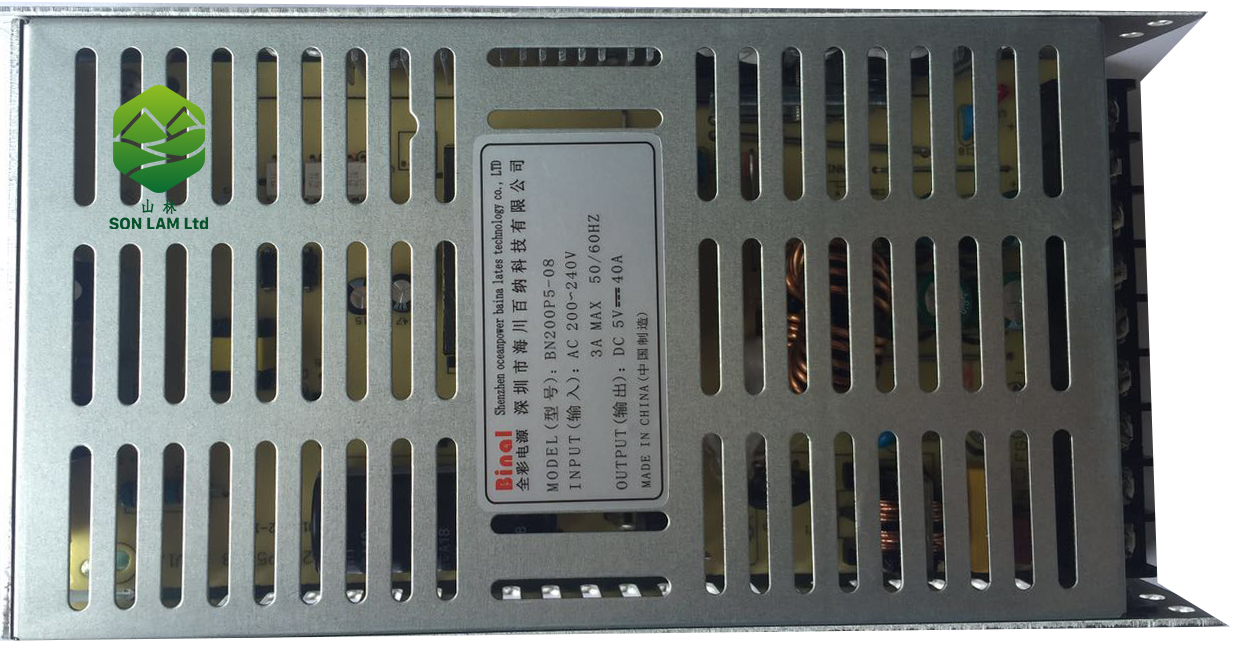 Nguồn điện 5v40A Binal