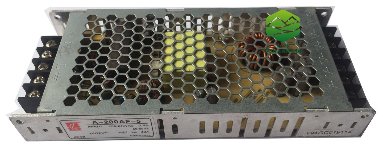 Nguồn điện 5V40A CL mỏng