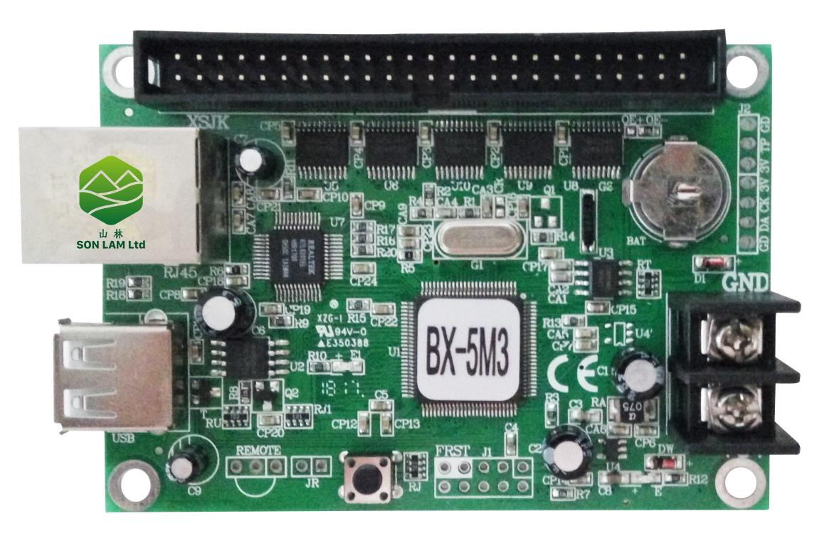 mạch led ma trận BX-5M3
