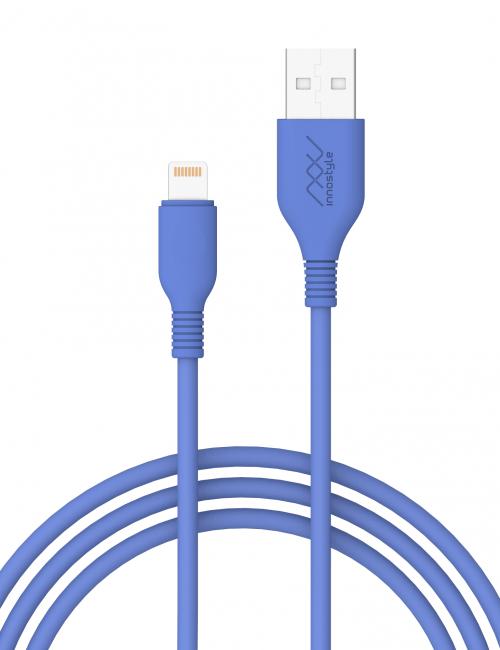 cap-innostyle-jazzy-1-5m-usb-a-to-lightning-mfi-iphone-ipad-ipod-cobalt