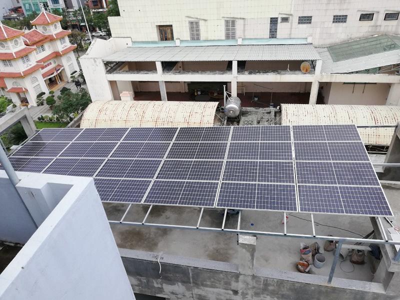 Lắp Đặt Điện Mặt Trời Hòa Lưới 10,68KWp Tại TP Đà Nẵng.