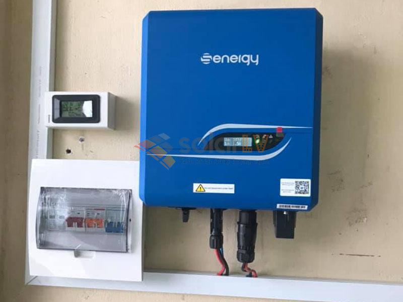 Lắp đặt Điện mặt trời hòa lưới 4,1 kW tại Hoài Đức-Hà Nội.