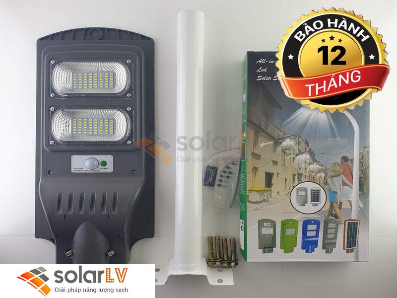 Đèn đường led 60W năng lượng mặt trời DD60WNLMT