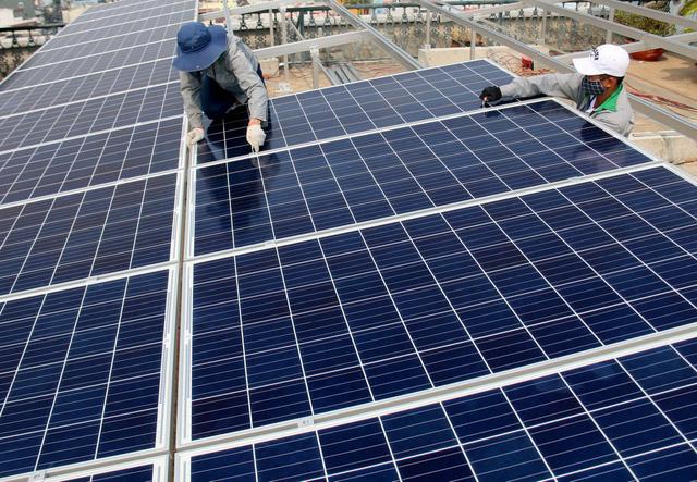 Lắp đặt điện mặt trời hòa lưới 15kW cho trang trại lợn ở Ba Vì-Hà Nội