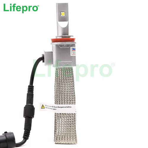 Bong den Led Lifepro H4 Head Light 4300K (Trang vang)