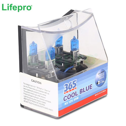 Bong den o to 365-Auto H3 Cool Blue 12V