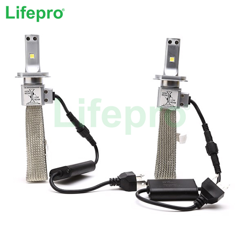 Bong den Led Lifepro H4 Head Light 6000K (Trang)