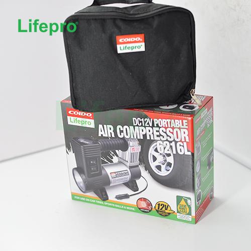 Máy bơm lốp xe ôtô Coido 6216L