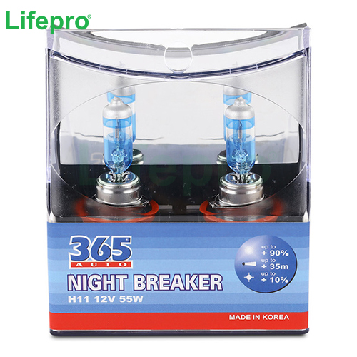 Bóng Đèn 365-Auto H11 Night Breaker