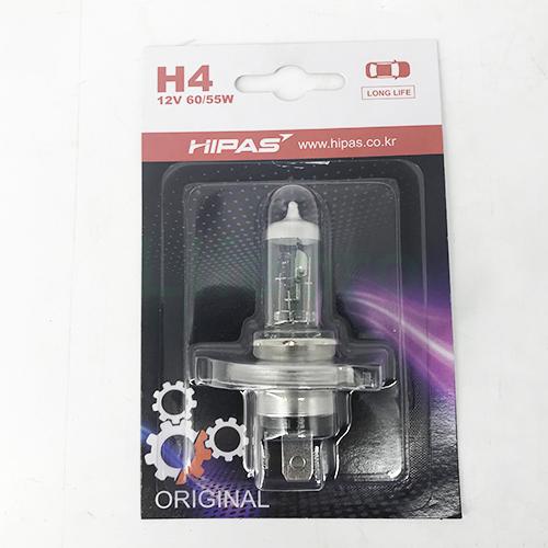 Bóng đèn HIPAS H4 12V 60/55W