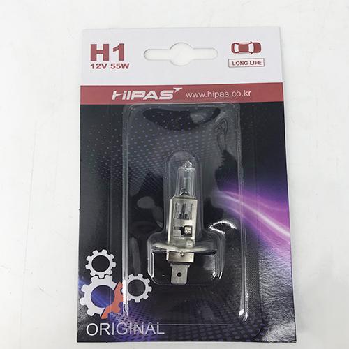 Bóng đèn HIPAS H1 12V 55W (LONG LIFE)