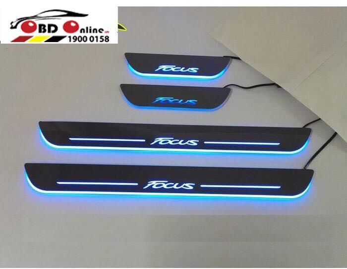 Nẹp Bước Chân Có Đèn LED Các Dòng Xe