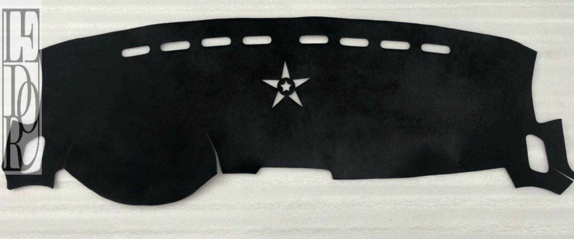Táp lô da bò thật brazin mầu đen nhập khẩu LEDOR