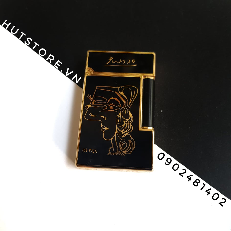 Bật lửa Dupont Super - Nobles Woman - Limited Edition - Gold - HUT0015