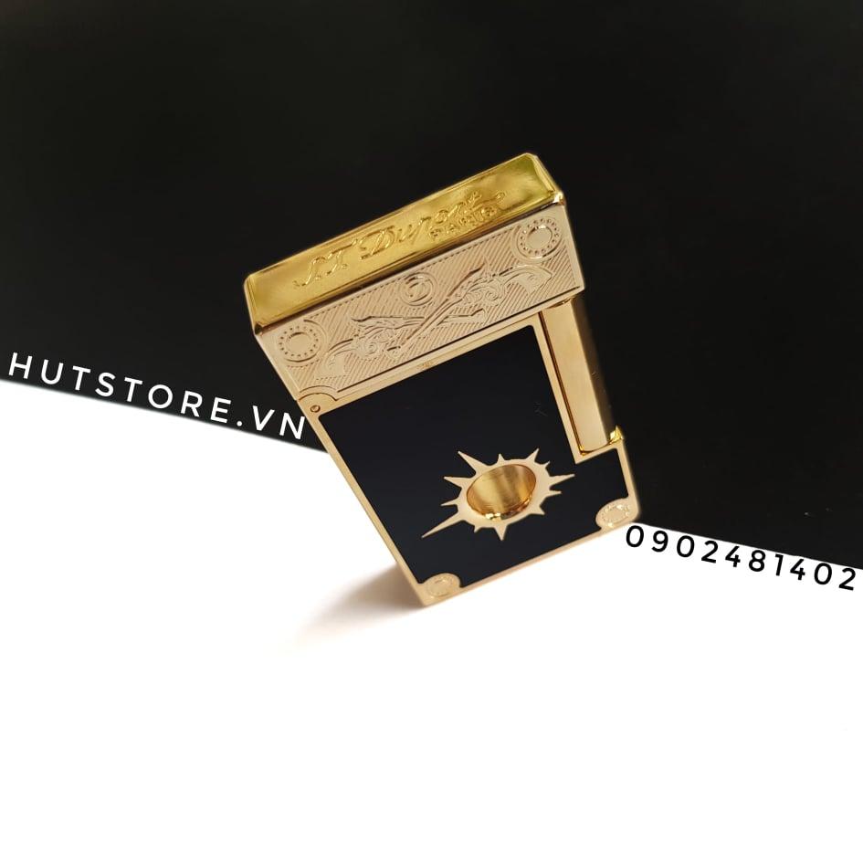 Bật lửa Dupont Super - Cowboy - Limited Edition - Gold Black - HUT0006