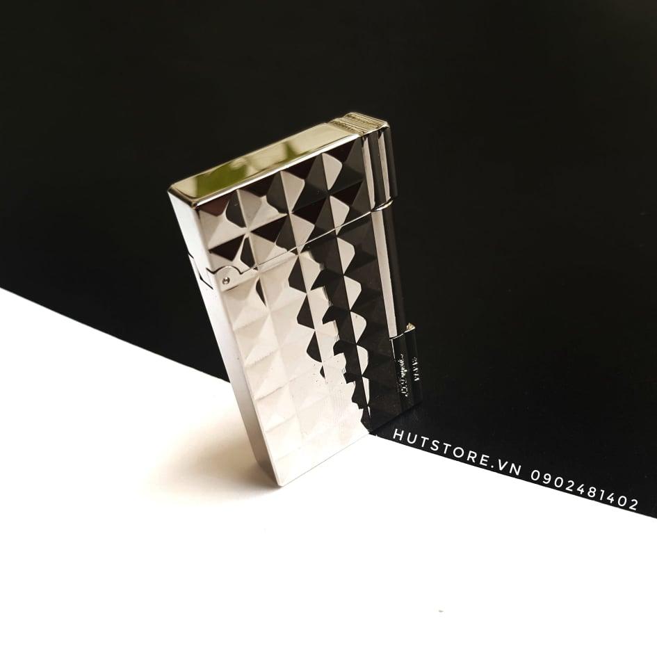 Bật lửa S.T Dupont Replica - Diamond Silver - HUT091