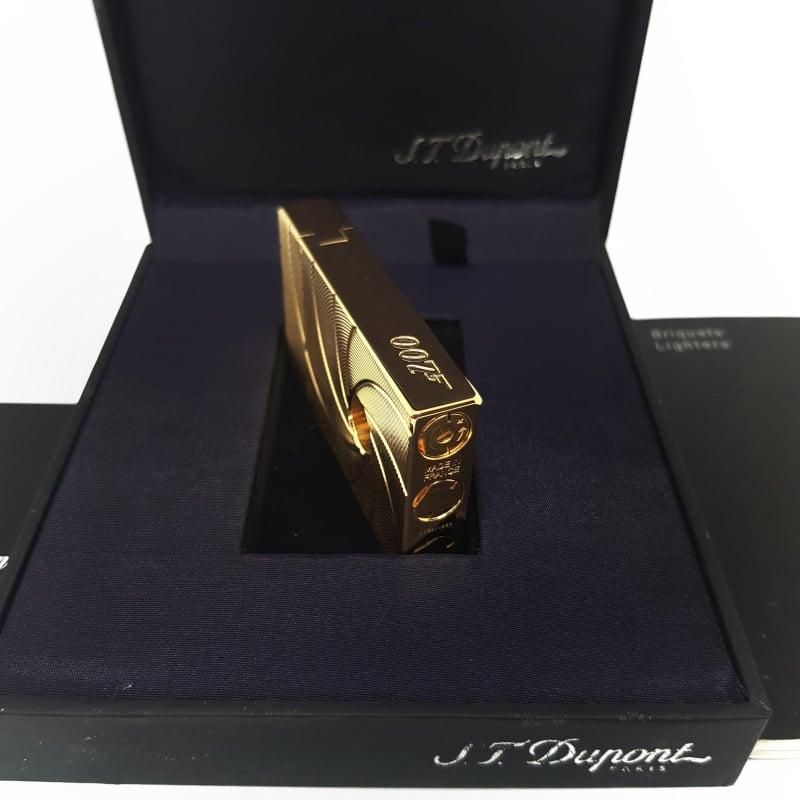 Bật lửa Dupont Super - 007 Spectre - Limited Edition - Gold - HUT0002