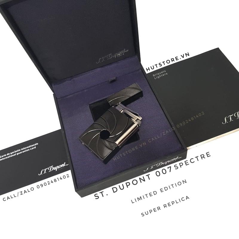 Bật lửa Dupont Super - 007 Spectre - Limited Edition - Black - HUT0001