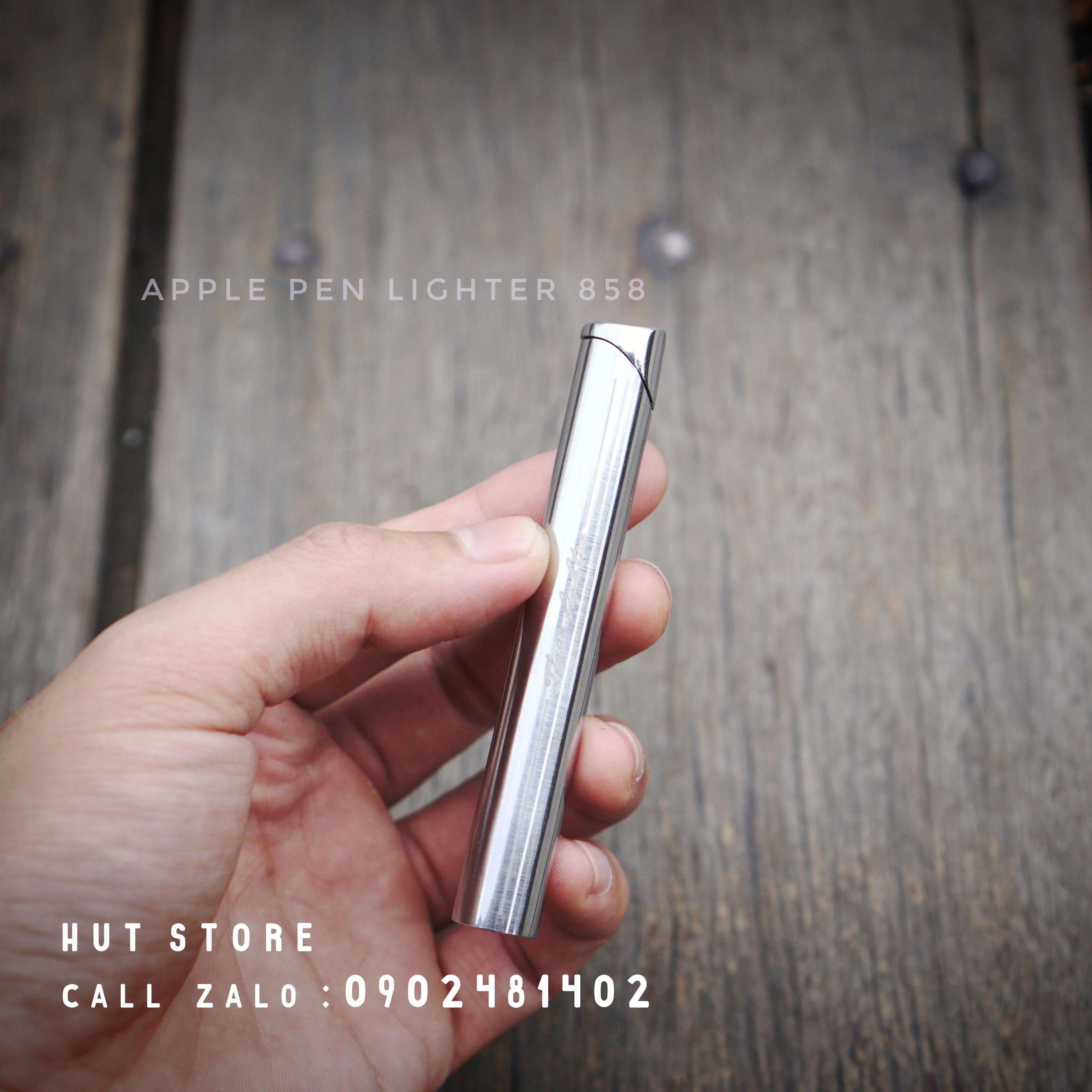 Bật lửa gas Apple Pen 858