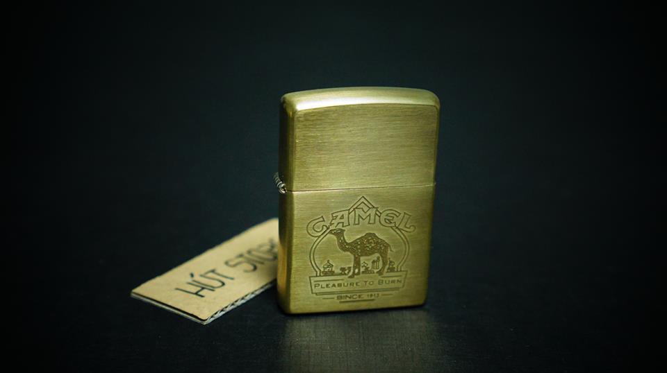 Bật lửa Zippo đồng thau - Camel - Limited Edition - Mỹ xuất Nhật