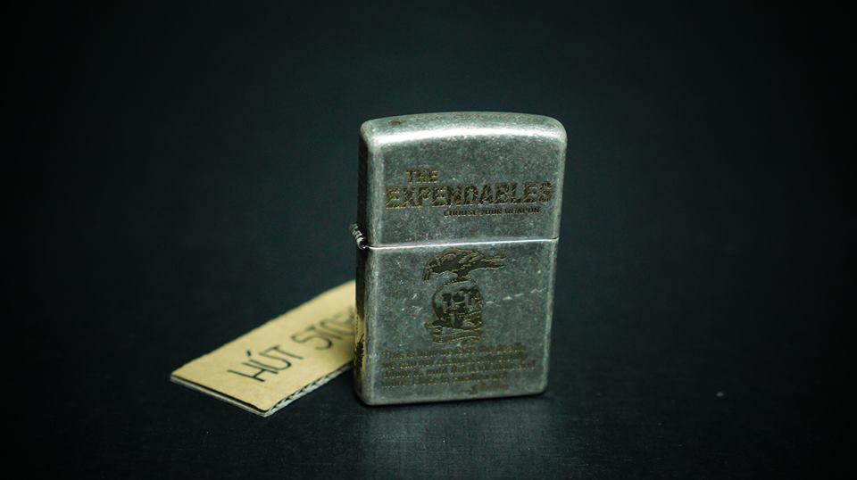 Bật lửa Zippo Reg Brass - Mỹ xuất Nhật - The Expendables - Limited Edition