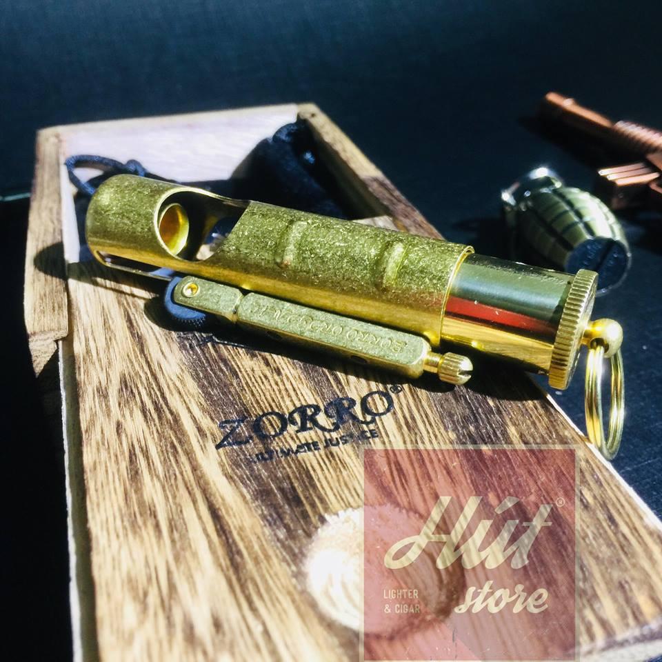 Bật lửa độc đáo - Zorro Z529 - Xăng đá