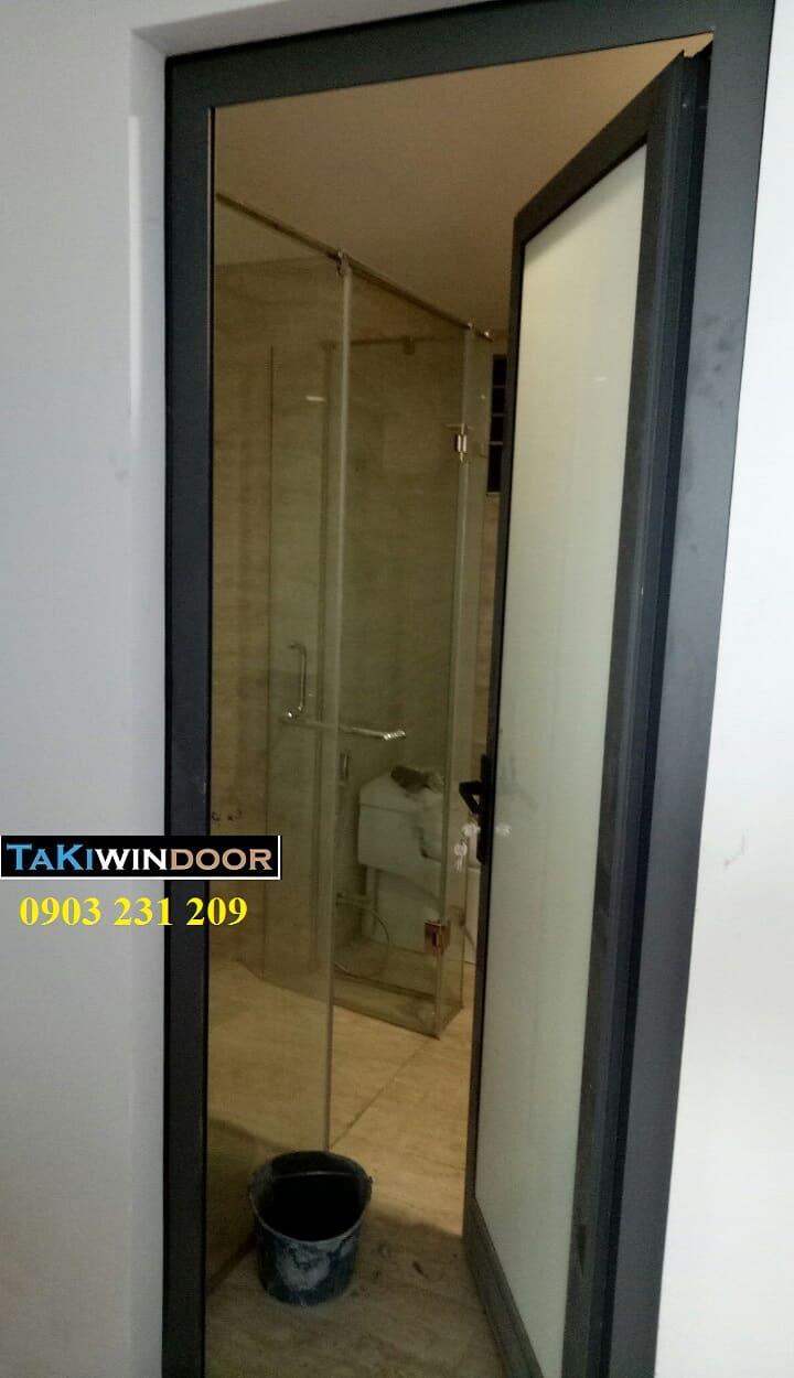 Thi công cửa nhôm Xingfa tại chung cư VP2 Linh Đàm Hoàng Mai