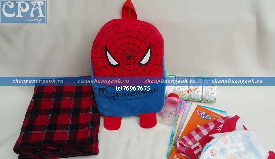 balo trẻ em - siêu nhân nhện