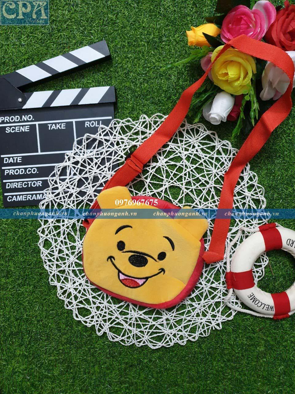ví đeo chéo trẻ em - gấu Pooh