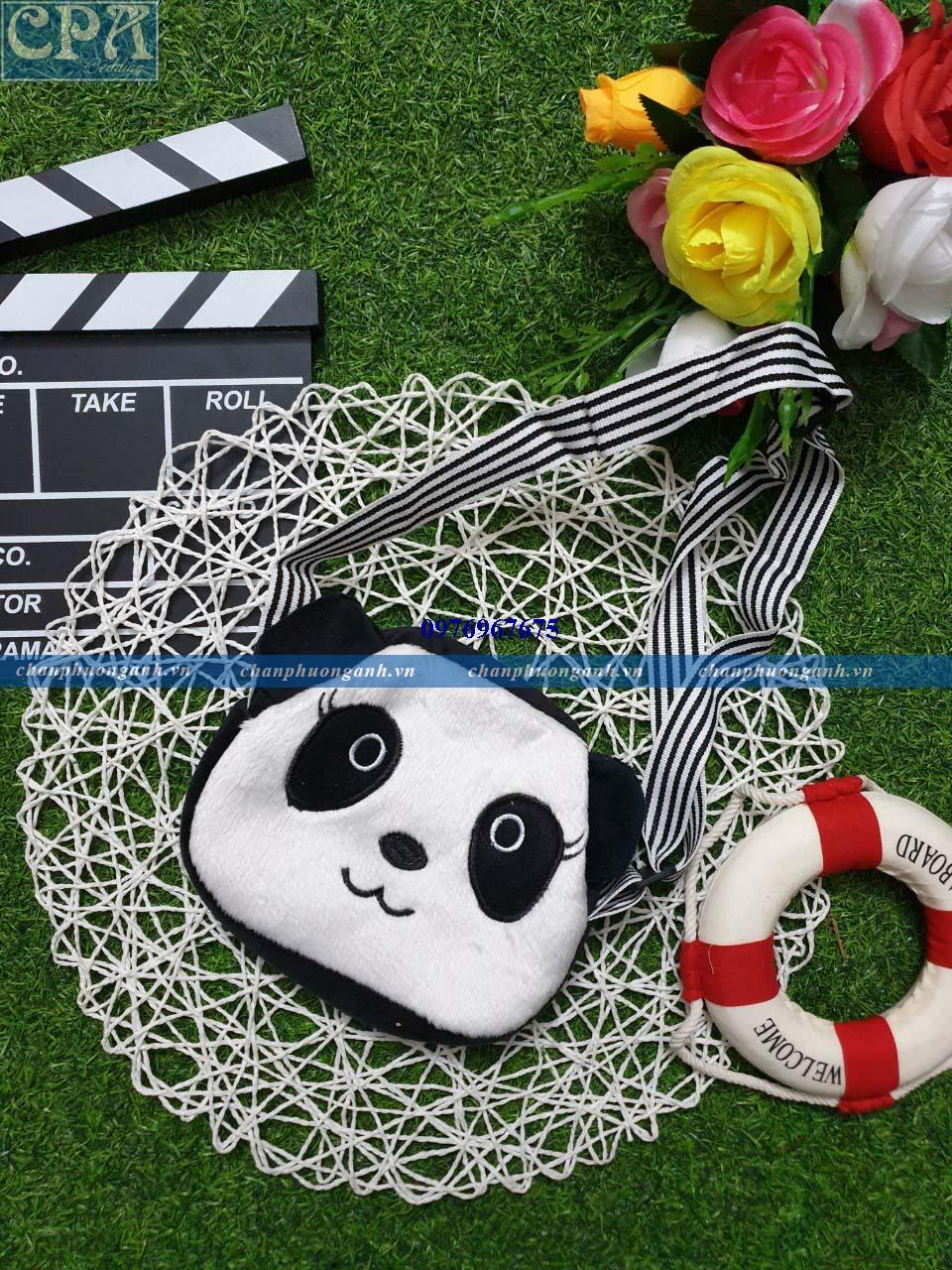 Ví đeo chéo trẻ em - gấu trúc Panda
