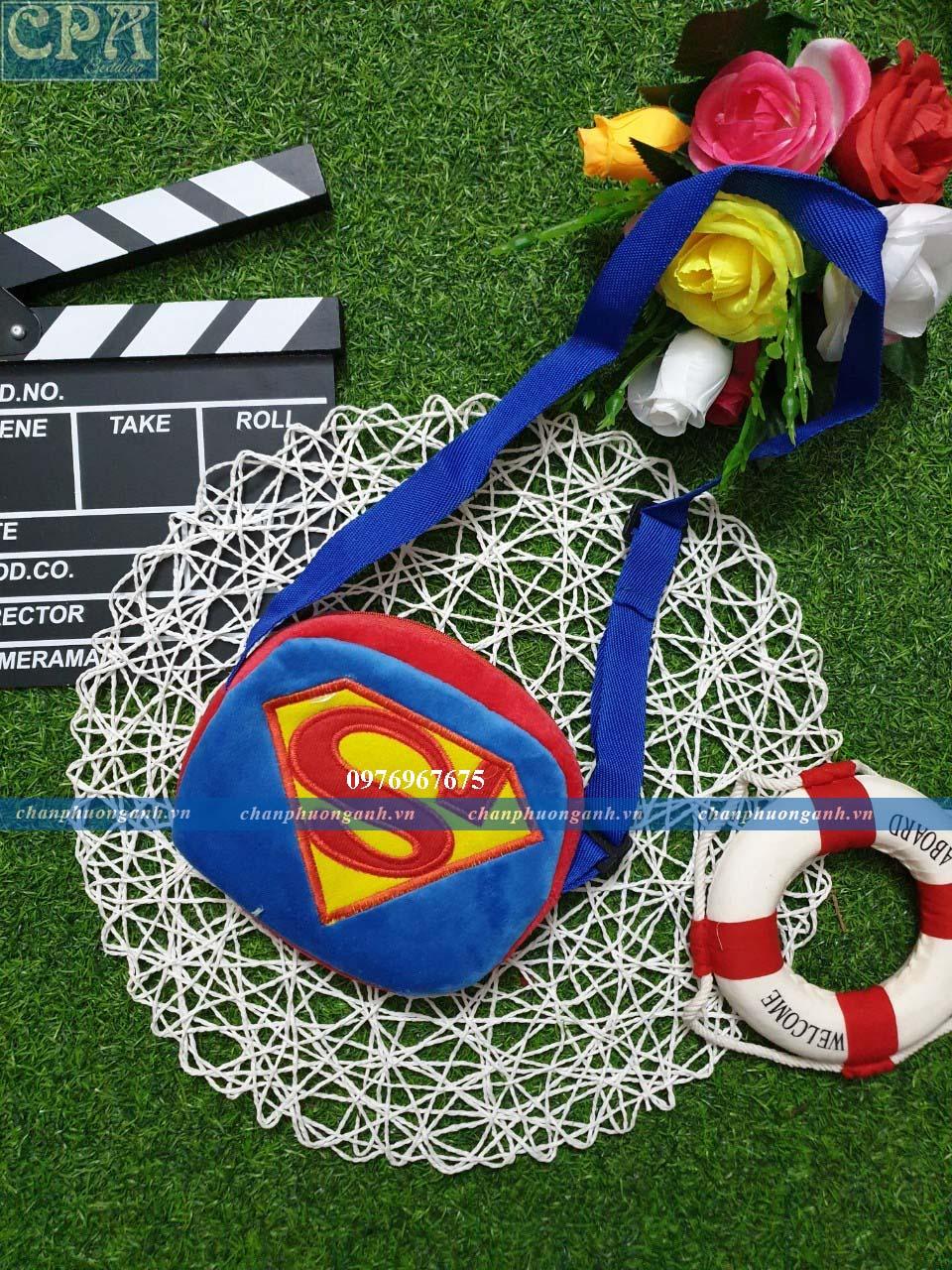 Ví đeo chéo trẻ em - Superman
