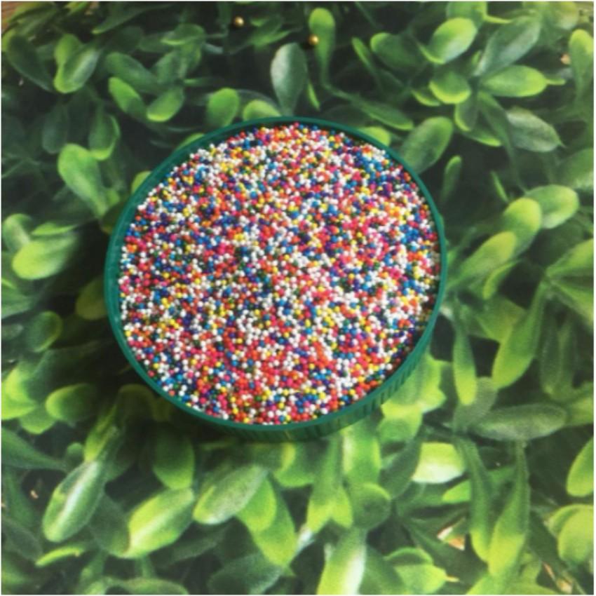 Bông đường bi màu sắc 20 gam