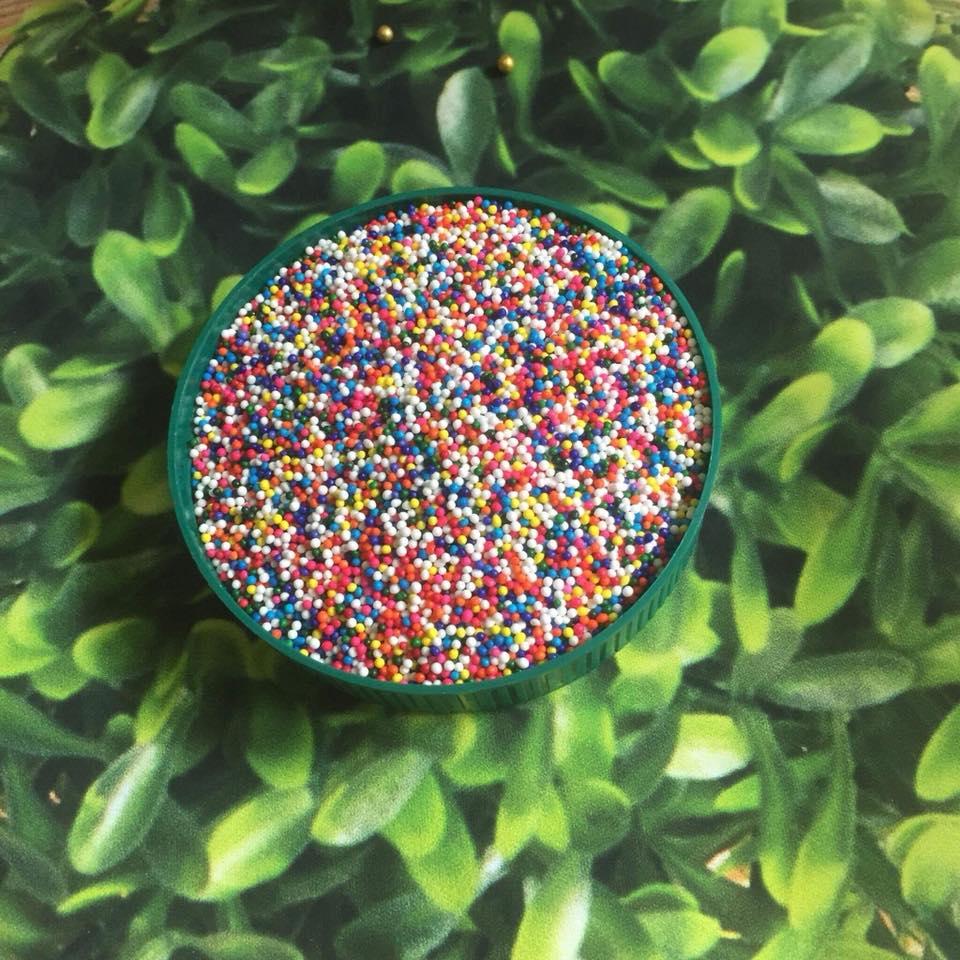 Bông đường bi màu sắc nhỏ 20 gam