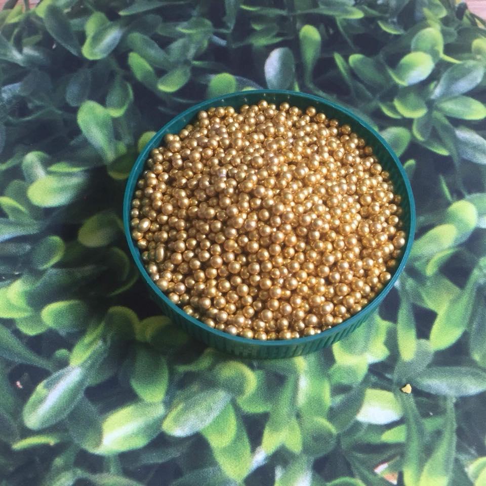 Bông đường bi vàng to 20 gam