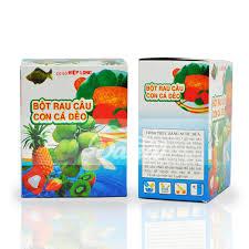 Thạch rau câu con cá dẻo hộp 12 gói