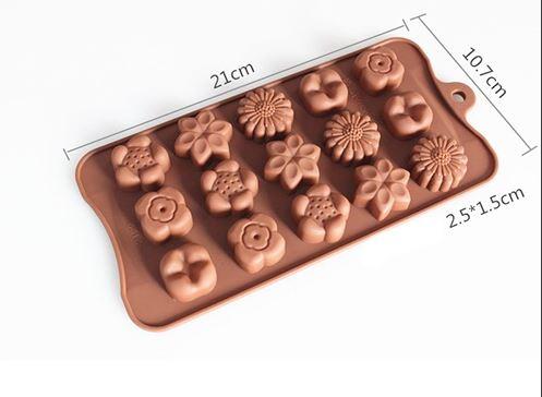 Khuôn silicon hoa các mẫu