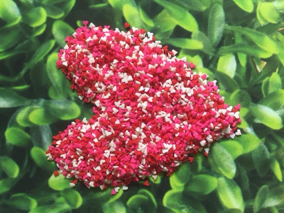 Bông đường tim màu sắc nhỏ 20 gam