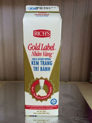 Topping Gold Label