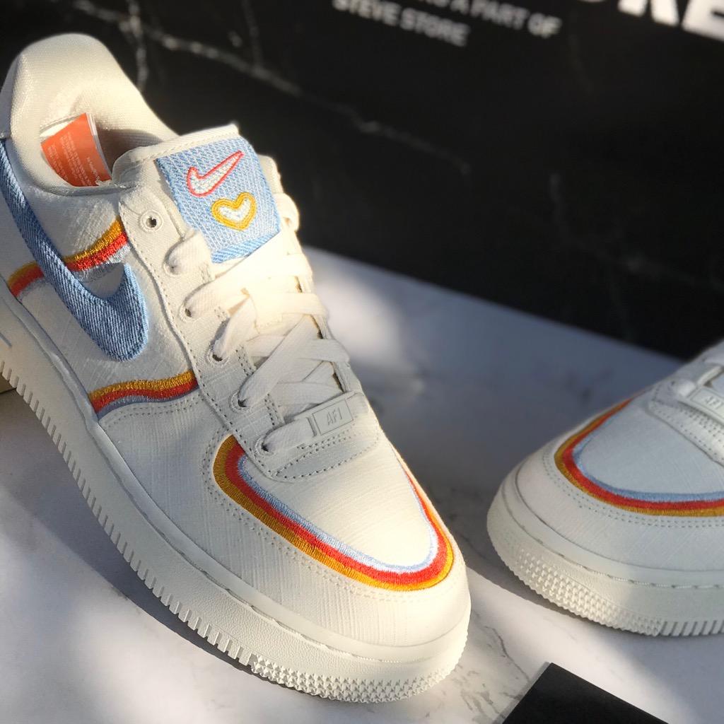 Hàng Chính Hãng Nike Air Force 1 Sail Amorny DJ4655133