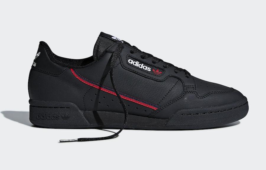 Hàng chính hãng Adidas Continental rascal 80s đen