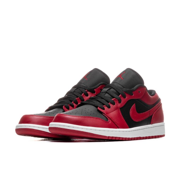 Hàng chính hãng Jordan 1 Low Black Red 553560606 553558606