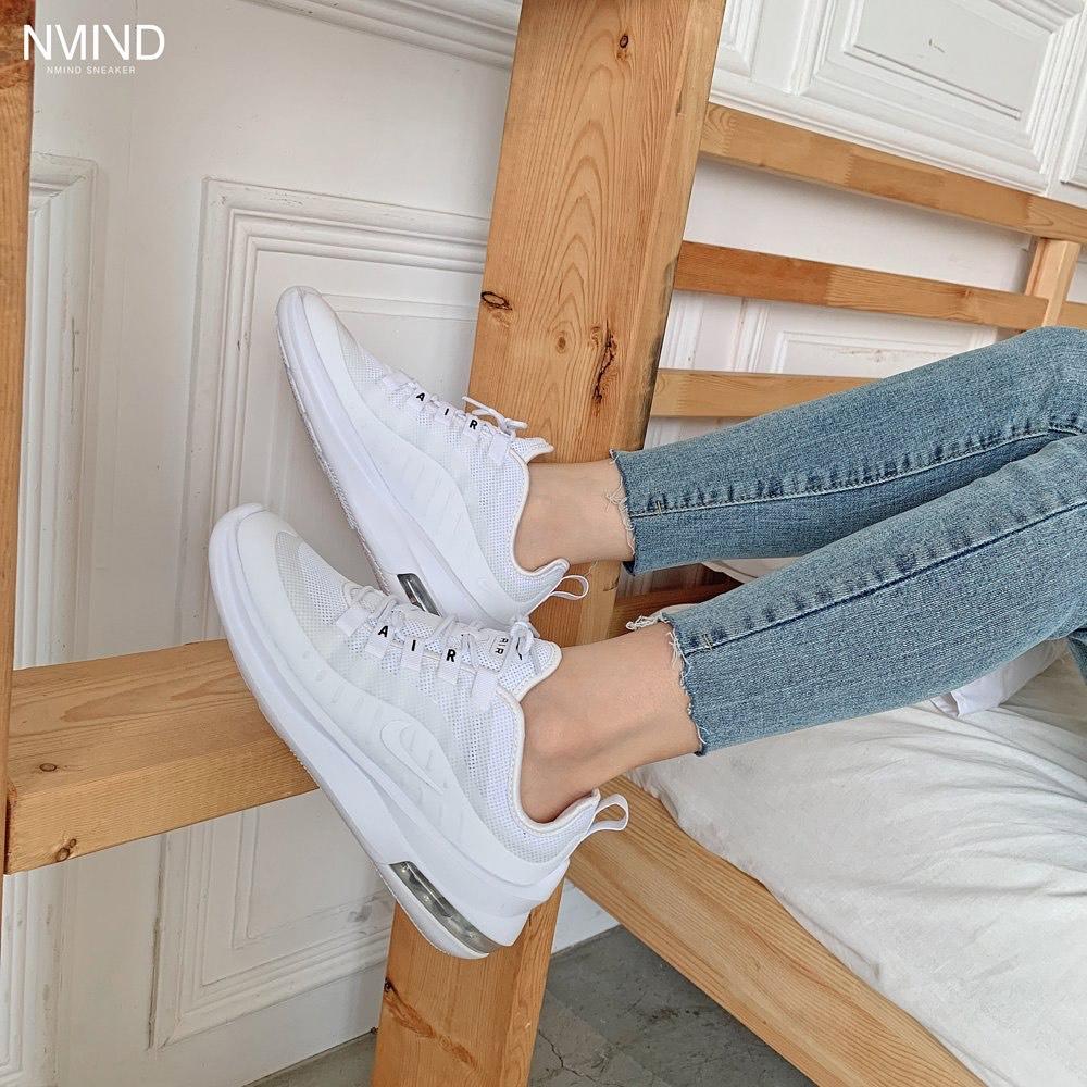 Hàng chính hãng Nike Air Max Axis All White size nữ