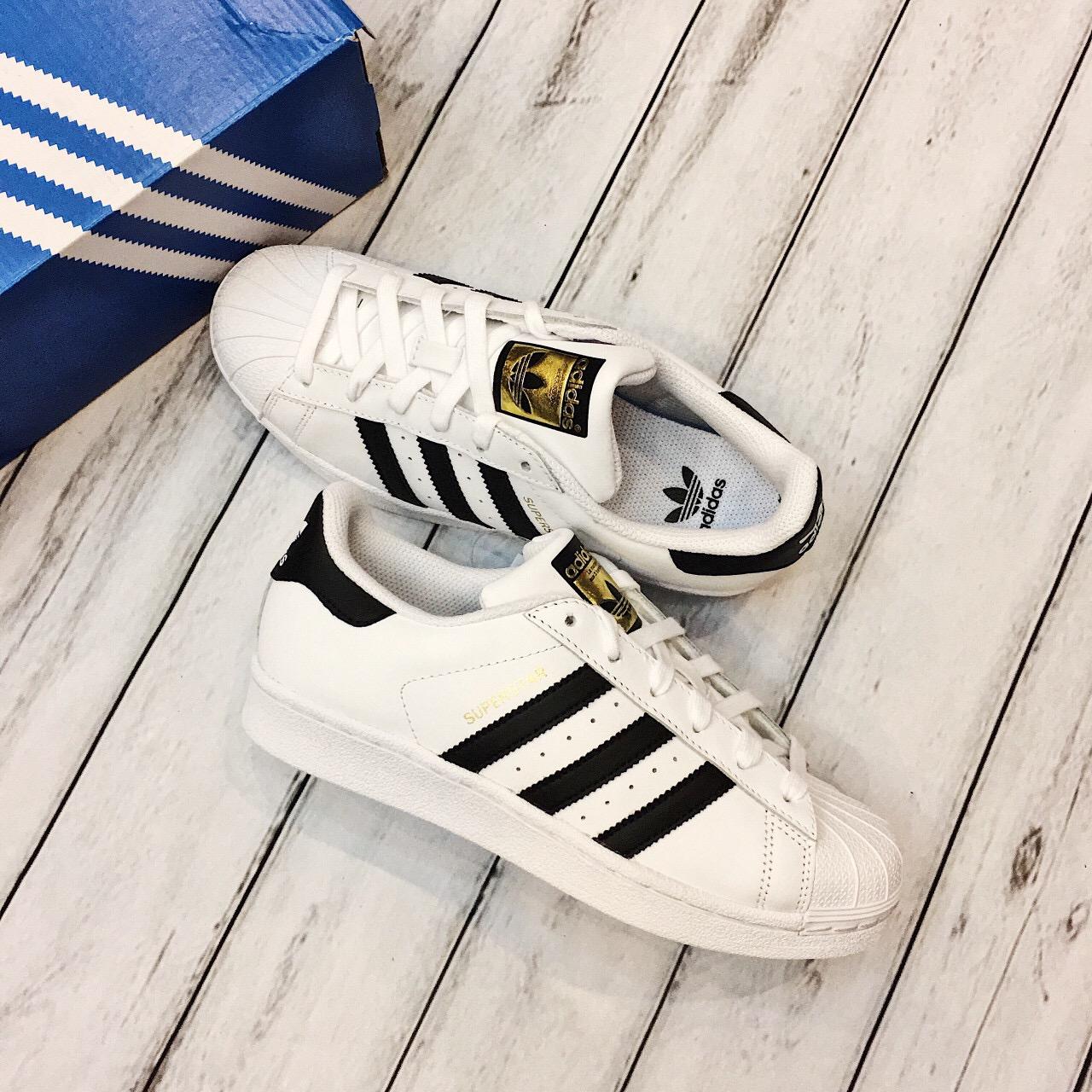 Hàng Chính Hãng Adidas Superstar Gold Stamp C77154