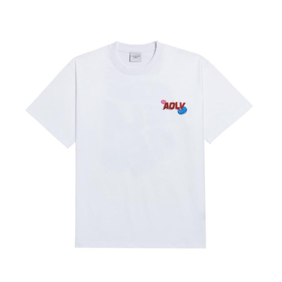 Hàng chính hãng áo ADLV White Small Logo
