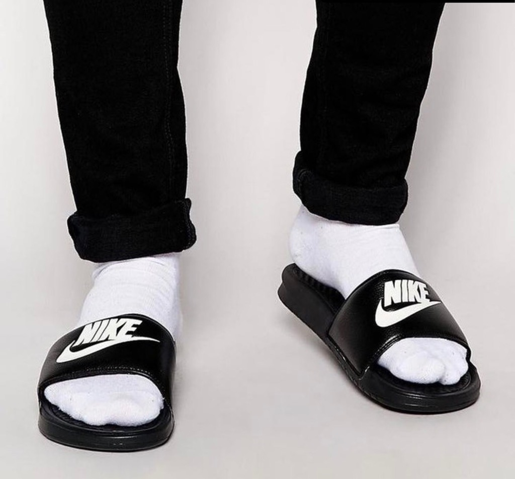 Hàng Chính Hãng Dép Nike Benassi Black 343880090