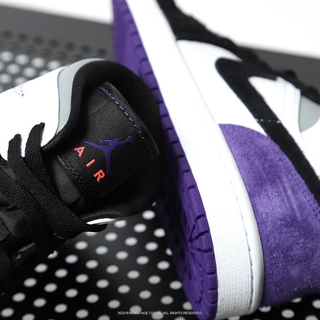 Hàng chính hãng Jordan 1 Mid SE Varsity Purple 852542105 bq6931105