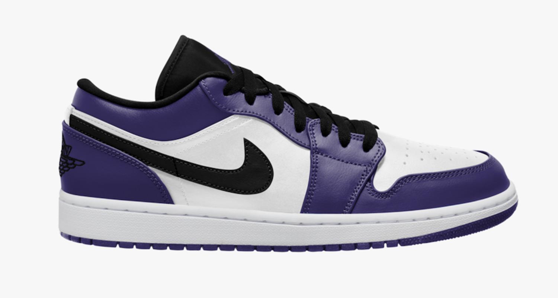 """Hàng chính hãng Jordan 1  Low """"Court Purple"""" 553558500"""