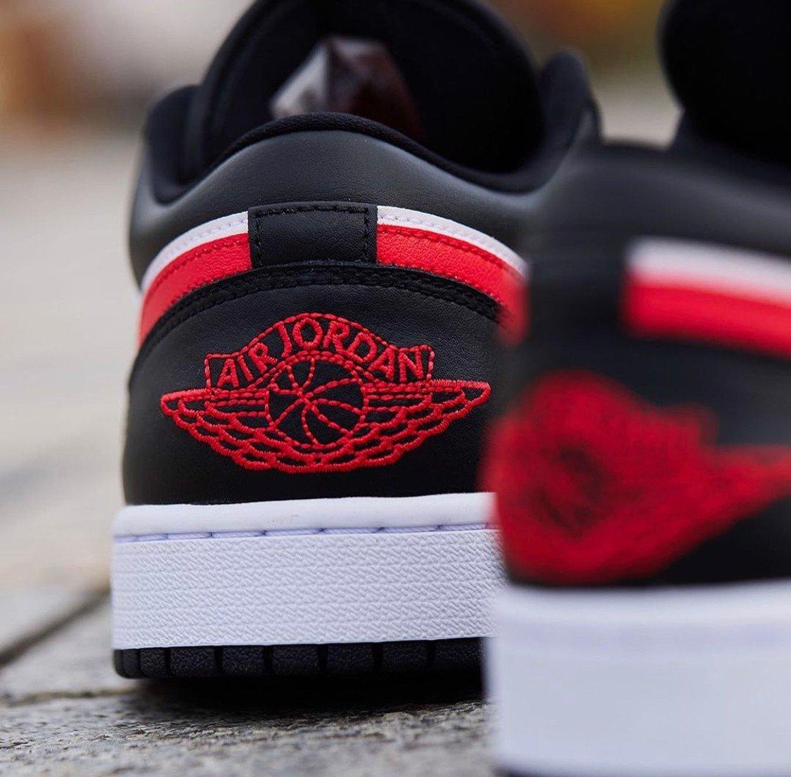 """Hàng chính hãng Jordan 1  Low """"Siren Red"""" dc0774004"""