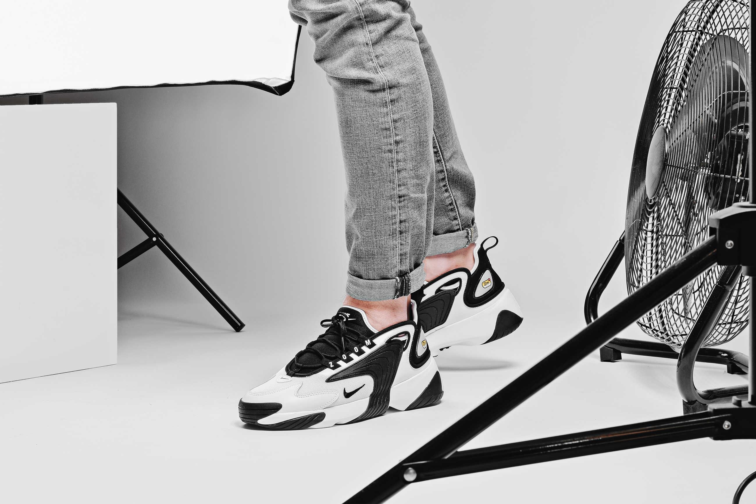 Hàng chính hãng Nike Zoom2K Black White