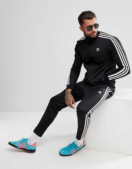 Hàng chính hãng Adidas Originals Basic 3 sọc trắng đen